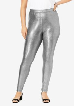 Iridescent-Shine Legging,