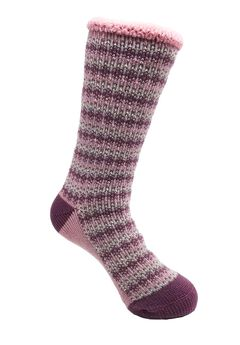 Allover Fairisle Thermal Sock Socks,