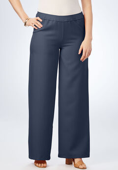 Bend Over® Wide-Leg Pant, NAVY