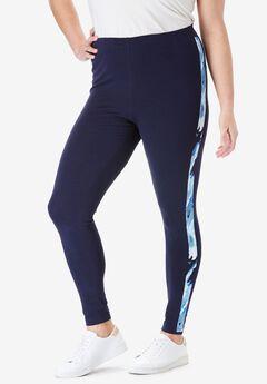 Ankle-Length Stretch Legging,