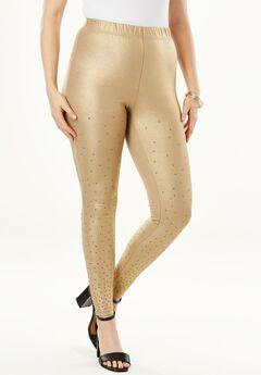 Gold Studded Legging,