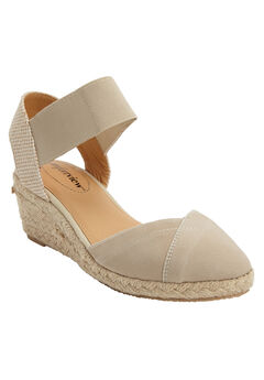 The Abra Espadrille by Comfortview®, NEW KHAKI