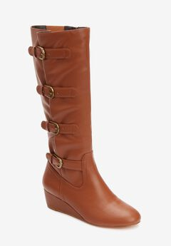 The Frankie Wide Calf Boot ,