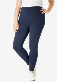 Essential Stretch Legging, NAVY