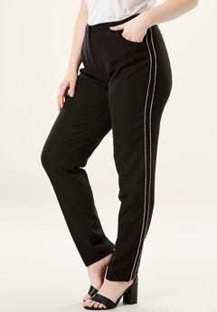 Dressy Tapered-Leg Trouser,