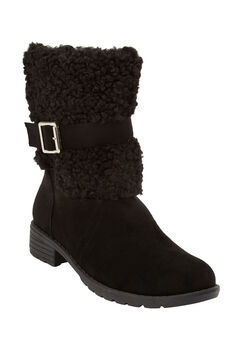 The Sellie Boot by Comfortview®, BLACK