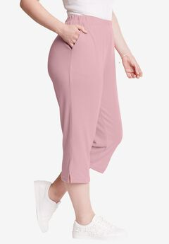Soft Knit Capri, ROSE MIST, hi-res