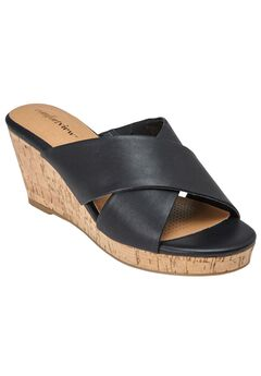 Willow Sandals by Comfortview®, BLACK, hi-res