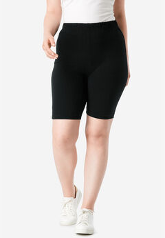 Essential Stretch Bike Short, BLACK