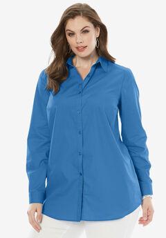 The Kate Shirt, CORNFLOWER BLUE