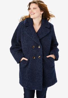 Button Teddy Bear Coat,