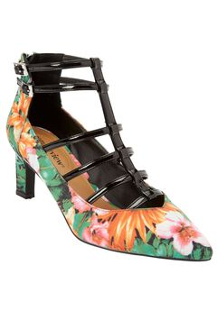 The Sima Pump by Comfortview®, FLORAL MULTI, hi-res