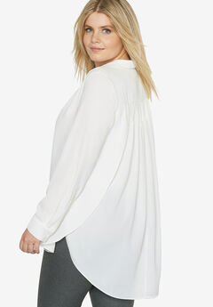 Side Slit Blouse by Castaluna,