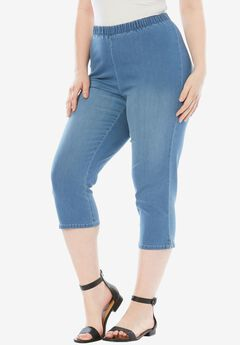 Stretch Capri Jean by Denim 24/7®,