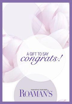 E-Gift Card - Congratulations,