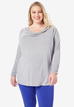 Ruched Drape Tee,