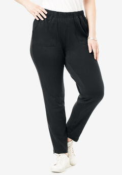 Soft Knit Ankle Pant,