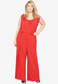 Wide Leg Jumpsuit by Castaluna,