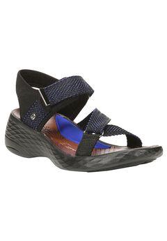 Jive Sandals by BZees®, BLUE, hi-res