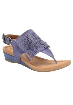 Shayla Sandals by Comfortiva®, DENIM, hi-res