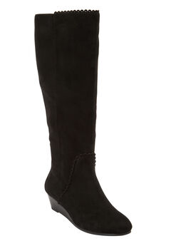 The Destiny Wide Calf Boot by Comfortview®,