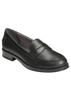 Push Ups Slip-Ons by Aerosoles®, BLACK LEATHER, hi-res