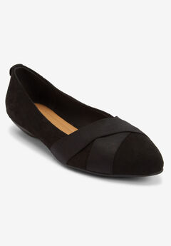 The Dona Flat by Comfortview®, BLACK