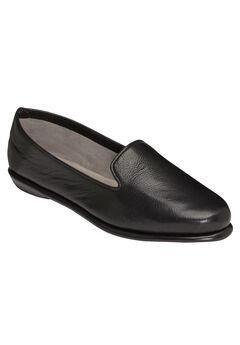 Betunia Slip-On by Aerosoles®, BLACK LEATHER, hi-res
