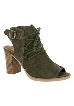 Pru Italy Dress Sandals by Bella Vita®, OLIVE SUEDE, hi-res