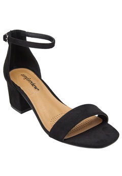 Orly Sandals by Comfortview®, BLACK, hi-res