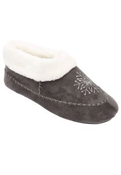 Snowflake Slipper by Comfortview®, GREY, hi-res