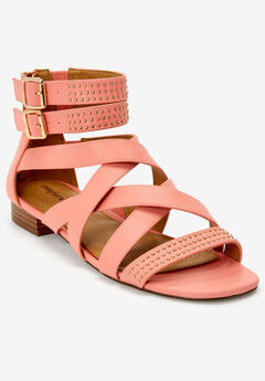 The Cambria Sandal by Comfortview®, LIGHT STRAWBERRY