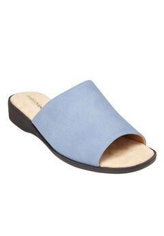 Melany Sandals by Comfortview®, DENIM, hi-res