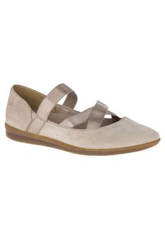 Meree Madrine Flats by Hush Puppies®, TAUPE NUBUCK, hi-res