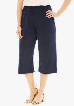 Wide Leg Culotte,