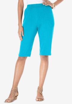 Soft Knit Bermuda Short, OCEAN