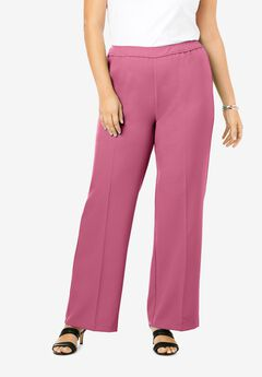 Wide-Leg Bend Over® Pant, CHERRY GLOW