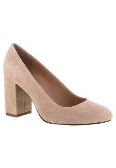 Nara Leather Pump by Bella Vita®, BLUSH KID SUEDE