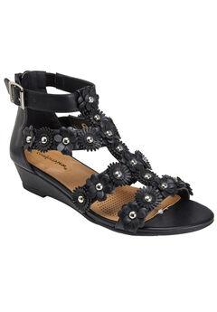 Alondra Sandals by Comfortview®, BLACK, hi-res