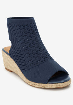 The Beau Espadrille by Comfortview®, NAVY