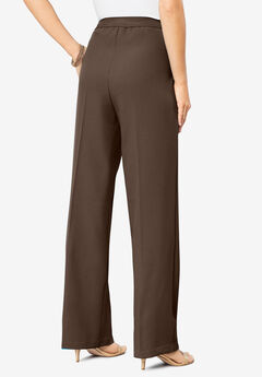 Wide-Leg Bend Over® Pant, CHOCOLATE