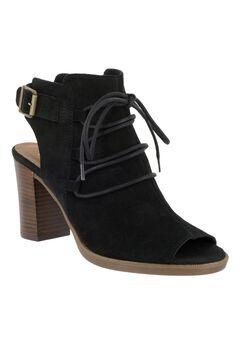 Pru Italy Dress Sandals by Bella Vita®, BLACK SUEDE, hi-res