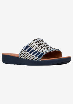 Solar Art-Denim Sandal by FitFlop,
