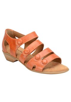 Reading Sandals by Comfortiva®, POPPY ORANGE