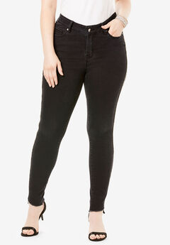 Side-Stripe Skinny Jean By Denim 24/7®, BEADING STRIPE