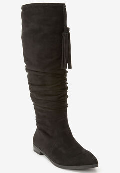The Adelyn Wide Calf Boot by Comfortview®,
