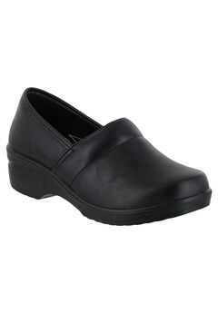 Lyndee Slip-Ons by Easy Works by Easy Street®, BLACK, hi-res