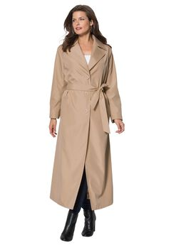 Maxi Trenchcoat, NEW KHAKI, hi-res