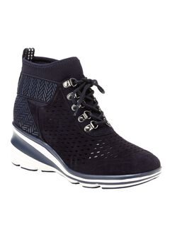 Offbeat Sneaker Booties by Jambu®, NAVY, hi-res
