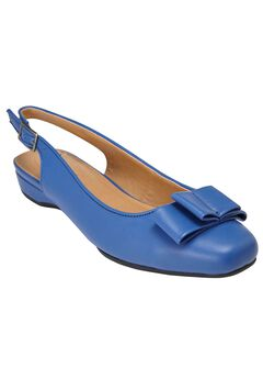 Nikki Slingback Flat by Comfortview,